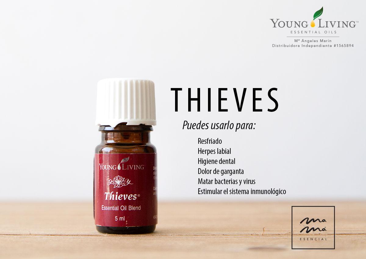 Mezcla de aceites esenciales Thieves