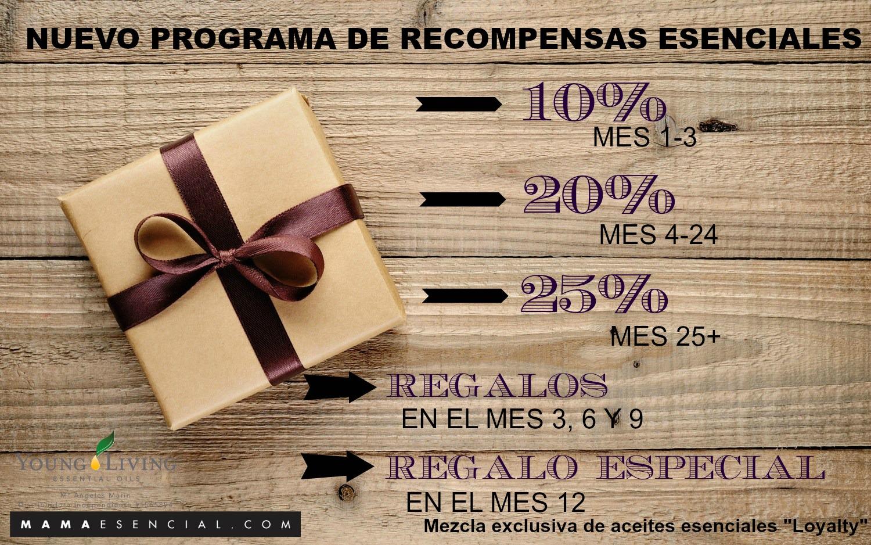 EL NUEVO PROGRAMA DE RECOMPENSAS ESENCIALES