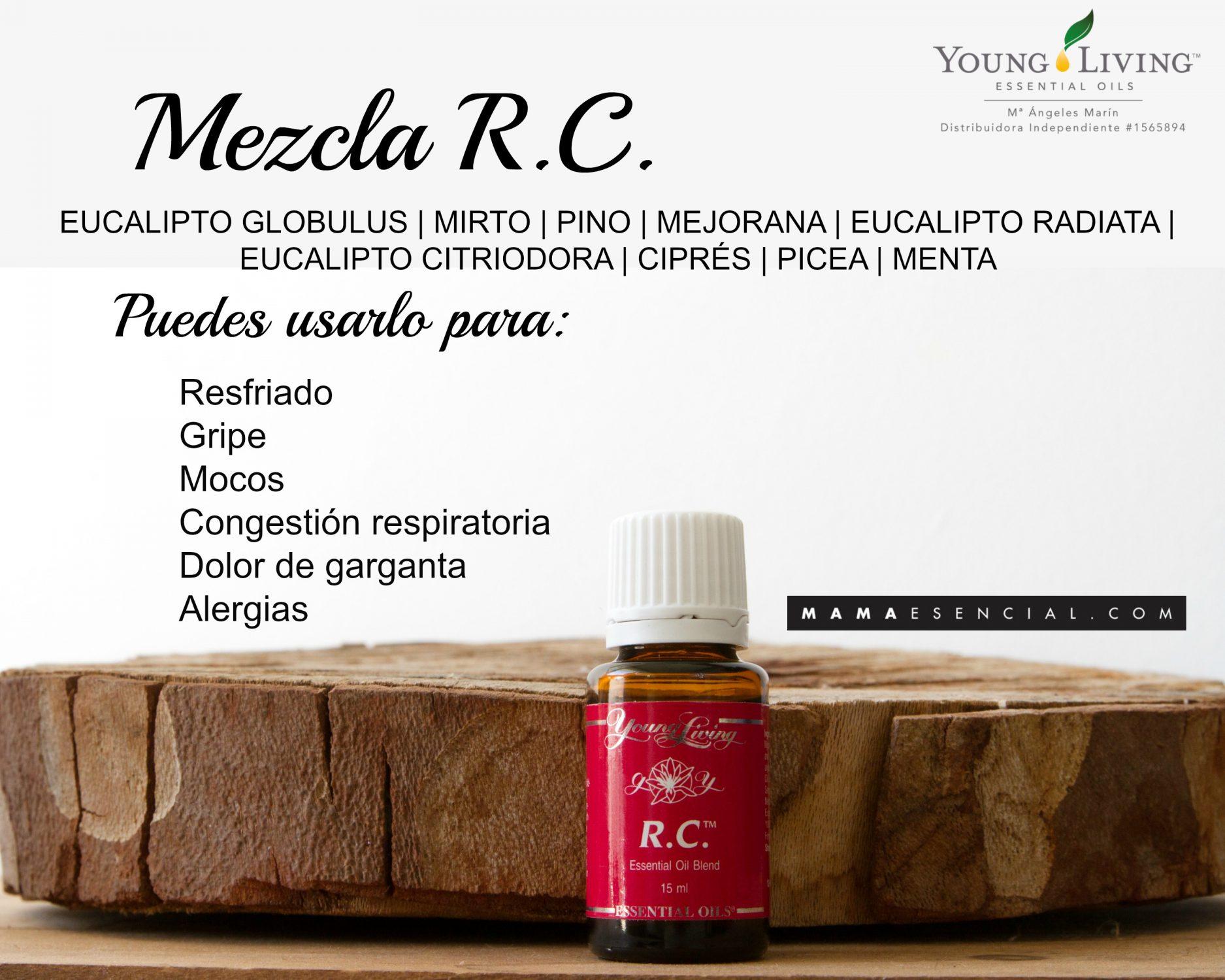 MEZCLA DE ACEITES ESENCIALES RC