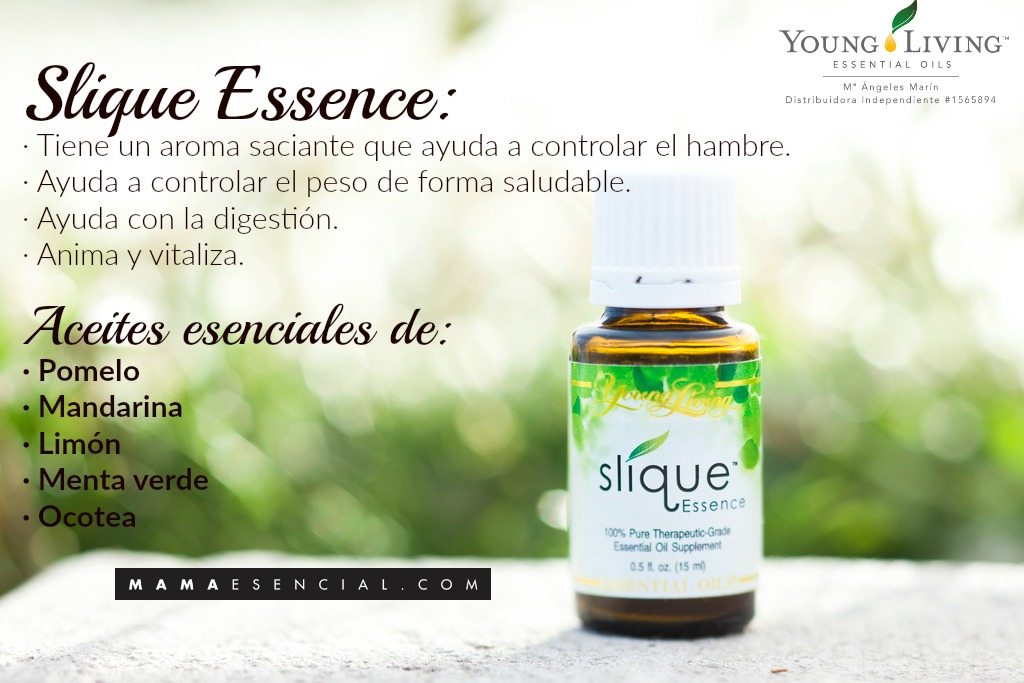 MANTENER EL PESO DE MANERA NATURAL CON SLIQUE ESSENCE