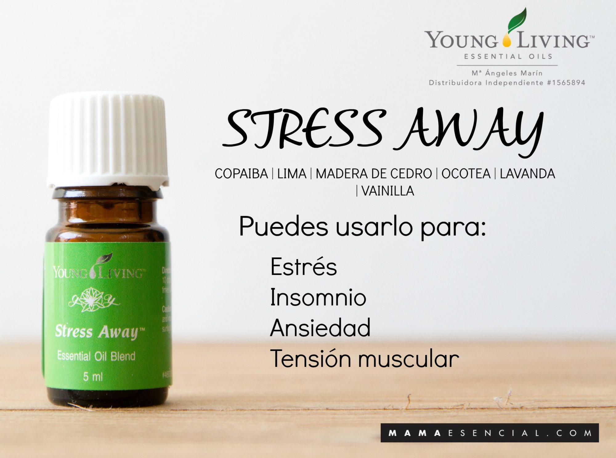 MEZCLA DE ACEITES ESENCIALES STRESS AWAY