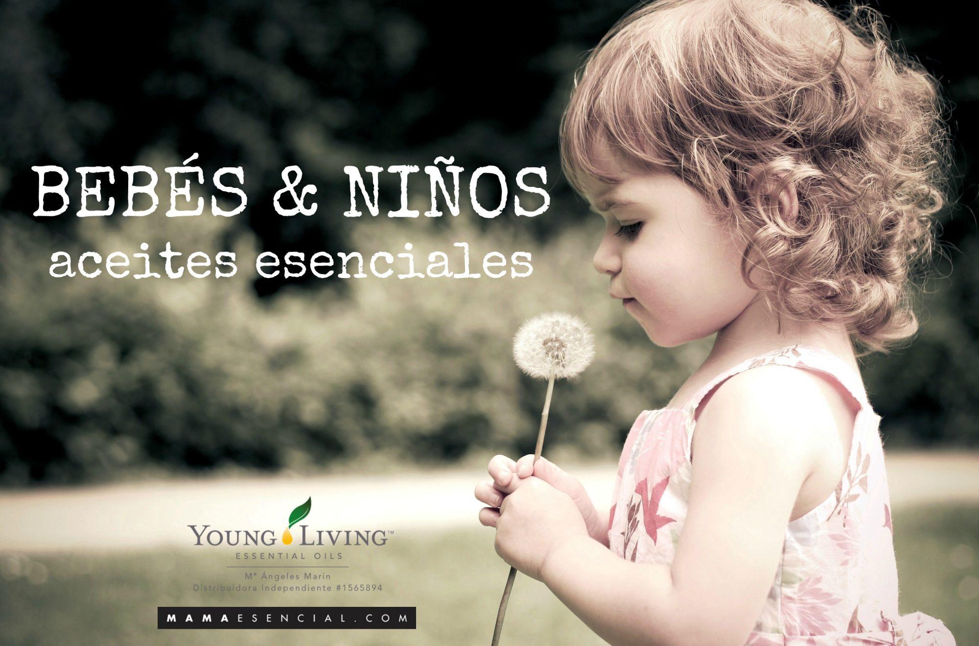 Aceites esenciales para niños