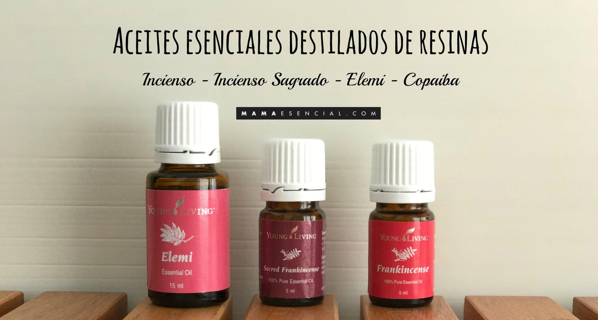 ACEITES ESENCIALES DESTILADOS DE RESINAS
