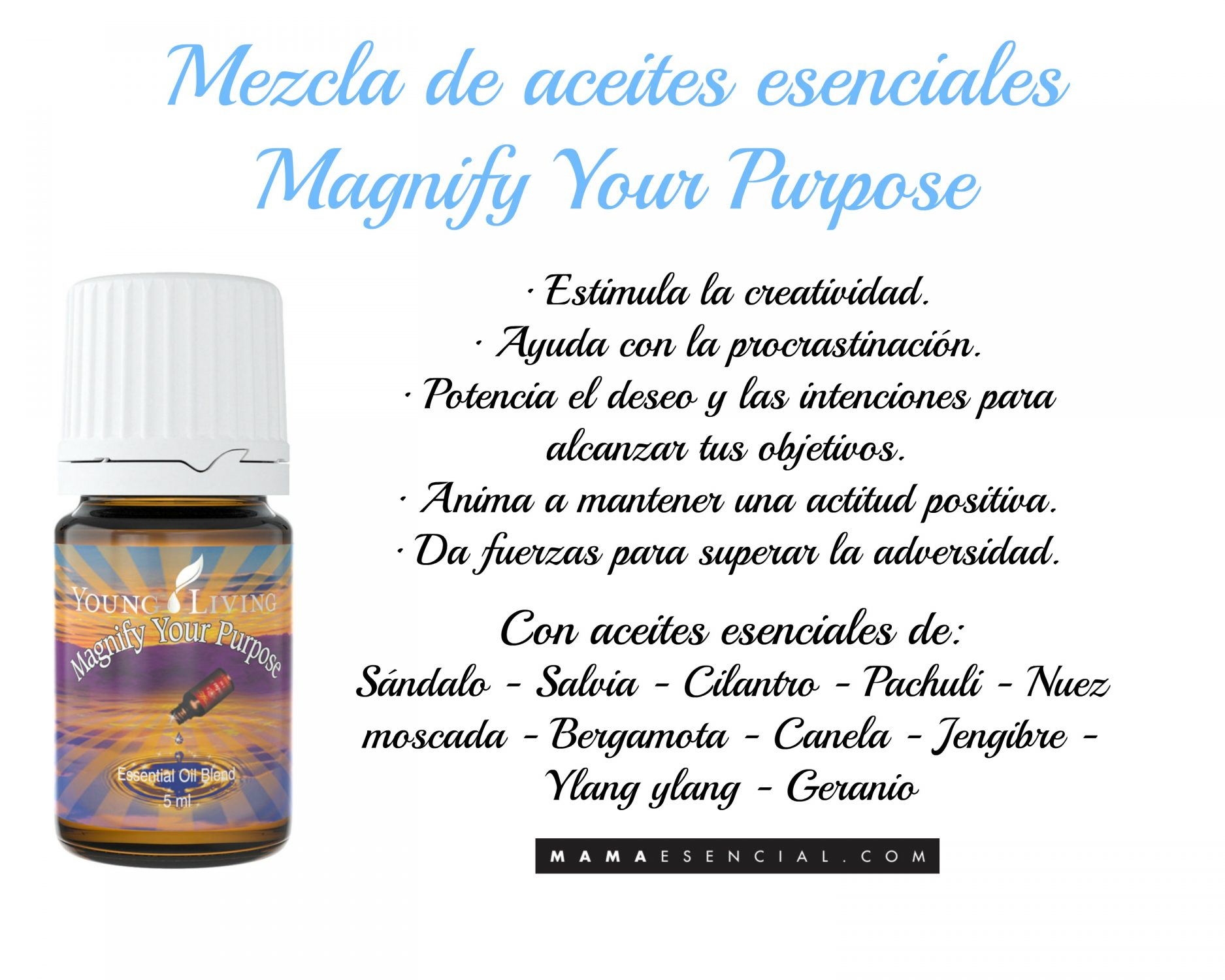 MAGNIFY YOUR PURPOSE de Young Living