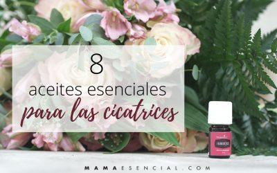 8 aceites esenciales para las cicatrices