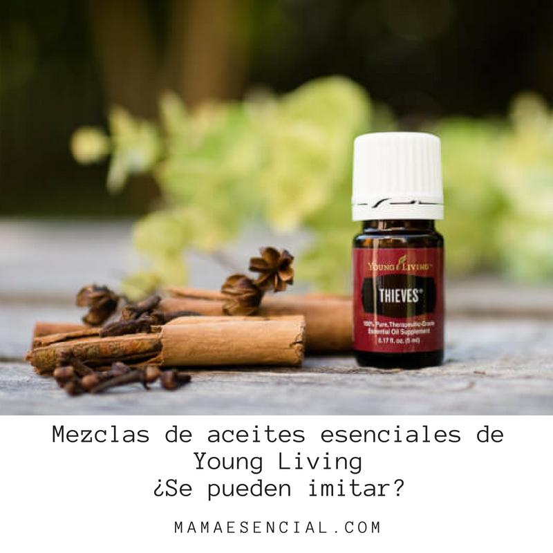 Imitar mezclas aceites esenciales Young Living