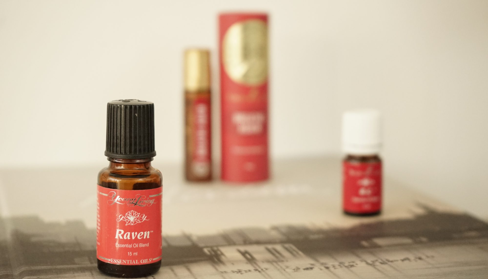 RC o Raven o Breathe Again de Young Living