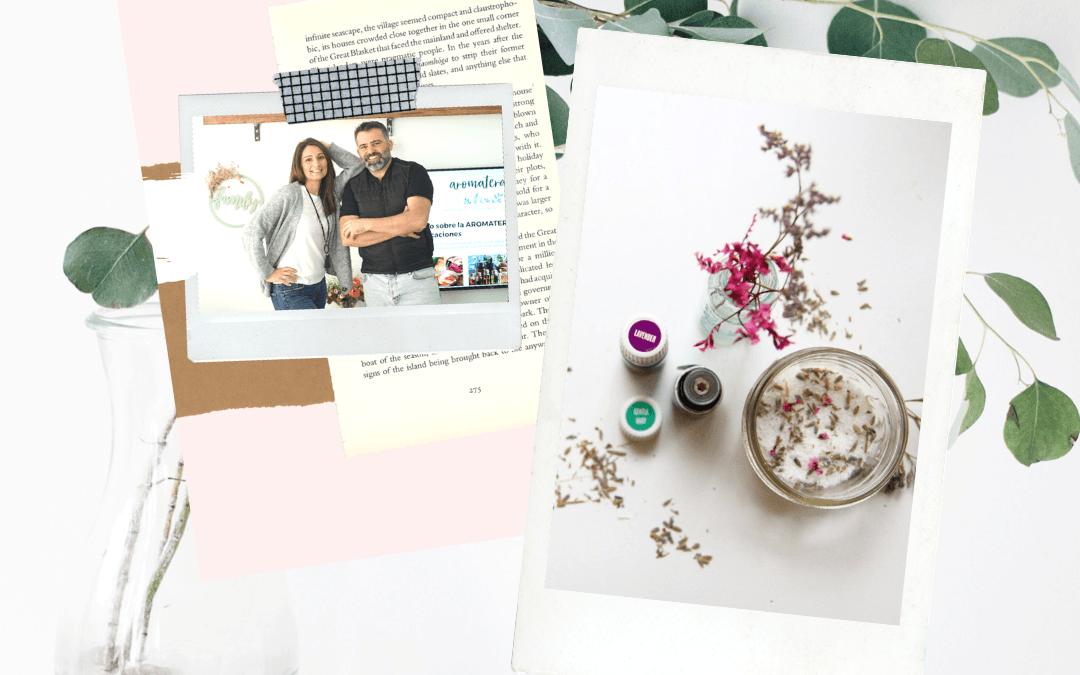 Curso aromaterapia Ma y Raúl
