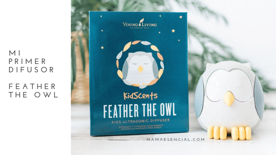 Difusor Feather the Owl de Young Living