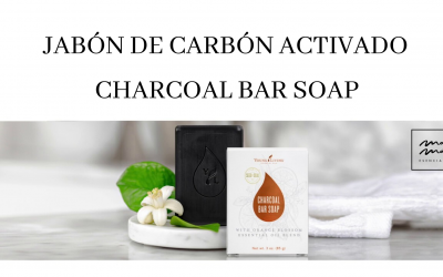 Jabón de carbon activado de Young Living