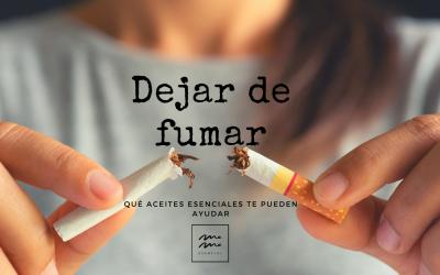 ACEITES ESENCIALES PARA DEJAR DE FUMAR