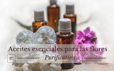 Aceites esenciales para las flores