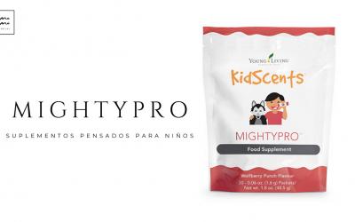 MIGHTYPRO – SUPLEMENTOS PARA NIÑOS DE YOUNG LIVING
