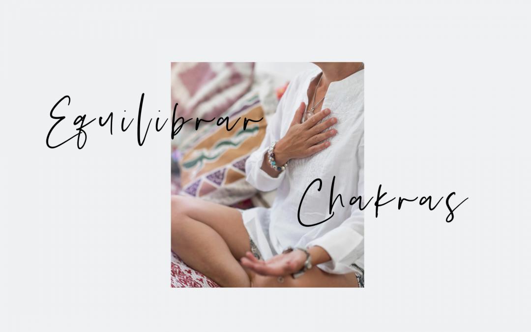 Equilibrar chakras con aceites esenciales